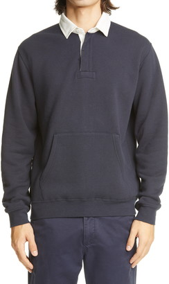 Beams French Terry Rugger Sweatshirt