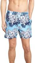 BOSS Piranha Floral Swim Trunks