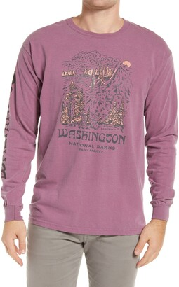Parks Project National Parks of Washington Long Sleeve Graphic Tee