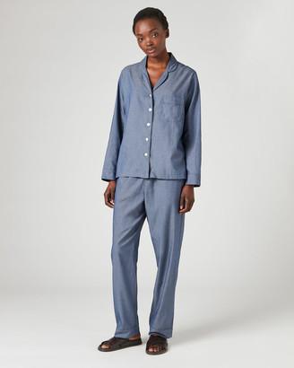 Jigsaw Melange Cotton Pyjamas