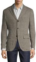 Michael Bastian Herringbone Blazer Bee Liner Sportcoat