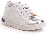 MICHAEL Michael Kors Girls' Ollie Janna T Metallic Lace-Up Sneaker