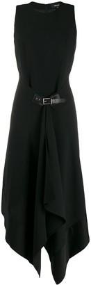 Barbara Bui Belted Midi Dress