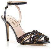 Sarah Jessica Parker Maud Metallic Ankle Strap High Heel Sandals - Bloomingdale's Exclusive