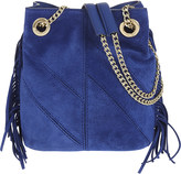 Maje Petite Temple suede bucket bag