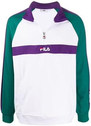 Fila Logo Zipped Jumper