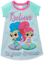 AME Shimmer and Shine Believe in Your Dreams Nightgown (Little Girls & Big Girls)