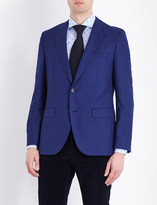 HUGO BOSS Textured wool blazer