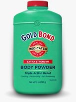 Gold Bond Extra Strength Medicated Body Powder 10 Oz (2 Pack)