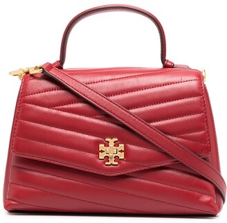 Tory Burch Quilted Leather Tote Bag
