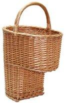 JVL Honey Willow Stair Step Storage Basket - 55 x 38 x 28 cm