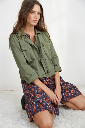 Velvet by Graham & Spencer Dixie Cropped Army Jacket