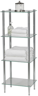 Creative Bath 4-Shelf Tower Unit