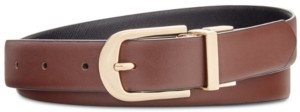 INC International Concepts Inc Reversible Plus-Size Belt, Created for Macy's