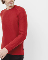 Ted Baker Twill stitch crew neck jumper