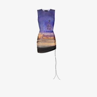 Louisa Ballou Heatwave ruched mini dress