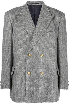 Opening Ceremony x J.Press double-breasted tweed blazer