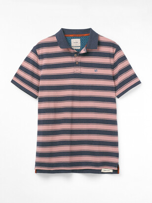 White Stuff Lewes Stripe Fairtrade Polo