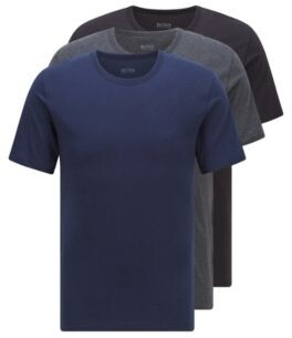 HUGO BOSS Three-pack of regular-fit cotton T-shirts