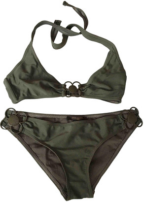 Louis Vuitton Green Lycra Swimwear