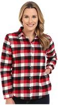 Woolrich Pemberton Fleece-lined Flannel Shirt Jacket