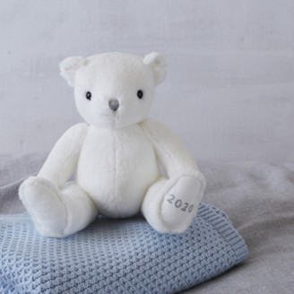 The White Company 2020 Dated Bear, White, One Size
