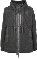 Boris Bidjan Saberi hooded multi-zip parka jacket