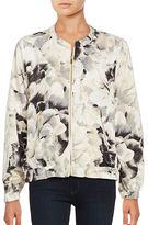 Calvin Klein Floral Bomber Jacket