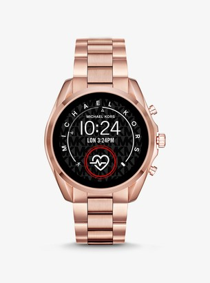 Michael Kors Gen 5 Bradshaw Rose Gold-Tone Smartwatch