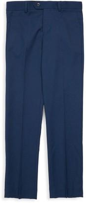 Isaac Mizrahi New York Little Boy's & Boy's Slim Fit Bird's Eye Trousers