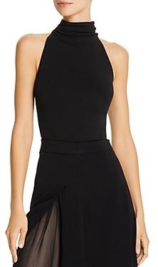 Cushnie Sleeveless Open-Back Bodysuit