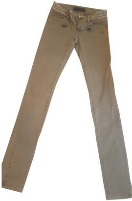 Barbara Bui Grey Cotton - elasthane Jeans for Women