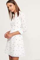 Dynamite Fit And Flare Button Up Dress