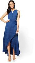 New York & Co. Wrap Midi Skirt