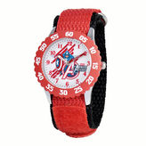Marvel Captain America Kids Red Nylon Strap Watch