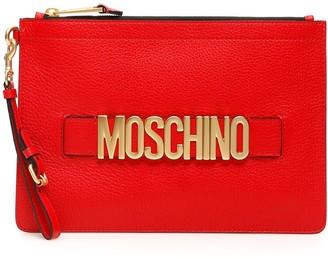 Moschino Logo Pouch