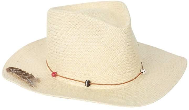 Nick Fouquet sand dollar beach straw hat