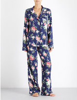 Wildfox Couture Gypsy Rose crepe pyjama set