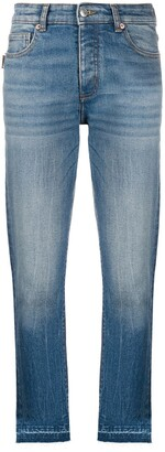 Zadig & Voltaire Raw-Hem Cropped Jeans