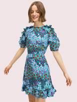Kate Spade pacific petals smocked dress