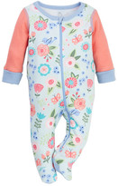 Boppy Floral Sleep 'N' Play Footie (Baby Girls)