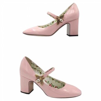Gucci Pink Patent leather Heels