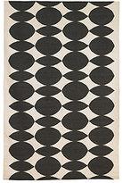 DwellStudio Almond 5x8 Rug in Ink