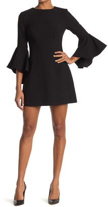 LIKELY Mallory Bell Sleeve Mini Dress