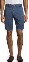 Robert Graham Solid Flat-Front Shorts