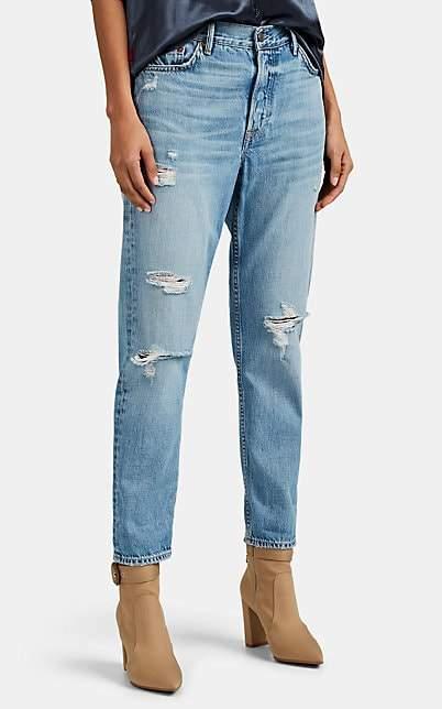 GRLFRND Women's Olivia Boyfriend Jeans - Blue
