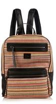 Christian Louboutin Aliosha Woven-leather Backpack