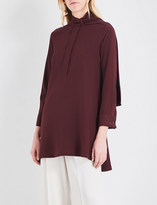 Sportmax Regno silk-crepe blouse