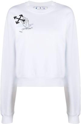 Off-White Atmosphere Arrows printed sweatshirt