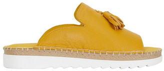 Easy Steps Elsa Mustard Glove Sandal
